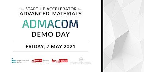 ADMACOM 2021 Spring Edition Online Demo Day entradas