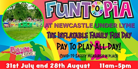 Funtopia at Newcastle under Lyme tickets