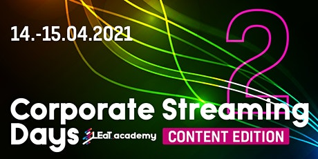 Corporate Streaming Days 2: Content Edition tickets