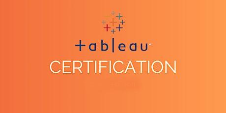 Tableau certification Training In Stockton, CA tickets