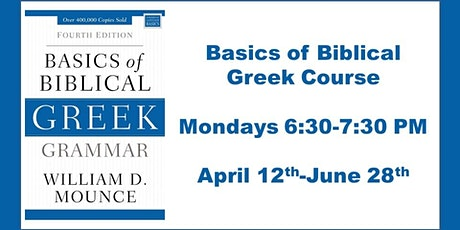 Basics of Biblical Greek tickets