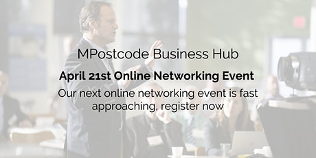 April 21st  Online Business Networking Event tickets