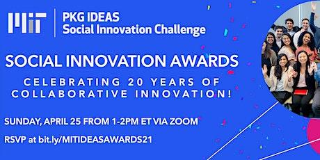 MIT IDEAS Virtual Innovation Showcase + Awards 2021 tickets