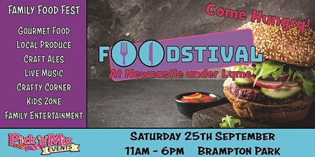 Newcastle under Lyme Foodstival tickets