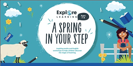 Put a Spring in Your Step - children's writing with Explore Learning tickets