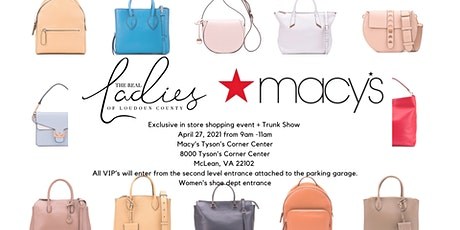 The RLOLC and Macy's exclusive in store shopping event - Tysons! tickets