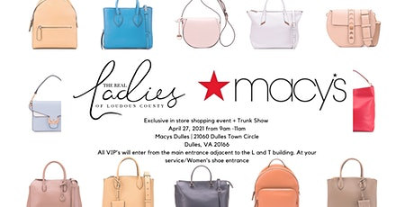 The RLOLC and Macy's exclusive in store shopping event - Dulles! tickets