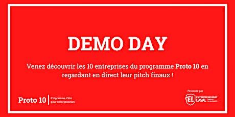 DEMO DAY - Proto 10 - 2021 billets
