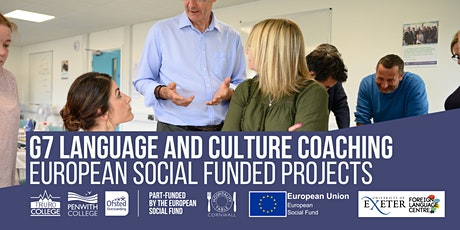 G7 Language and Culture Coaching -  French tickets