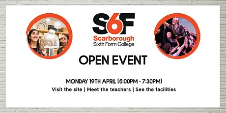 S6F Open Event April 2021 tickets