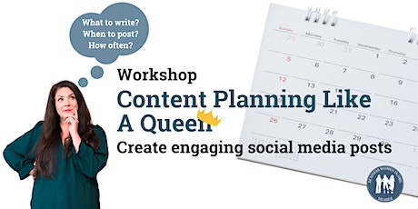 Content Planning like a Queen Workshop tickets