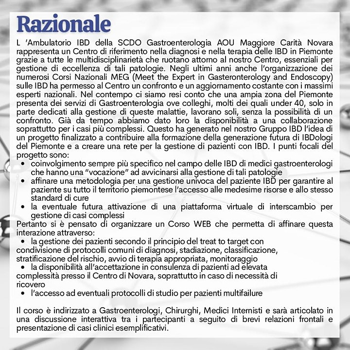 Immagine NEXI - Network for EXperts in IBD