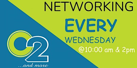 Weekly WEDNESDAY NETworking tickets