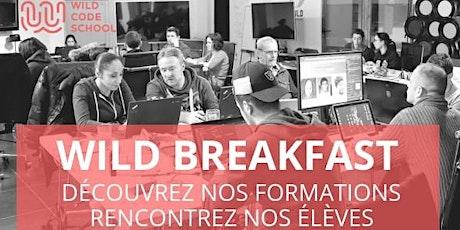 Wild Breakfast de la Wild Code School de Lille - EN VISIO tickets