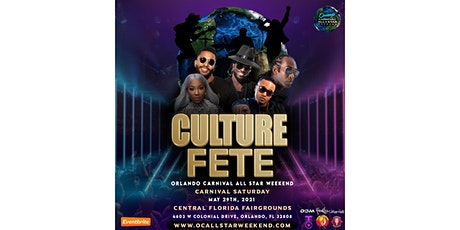 Culture Fete tickets