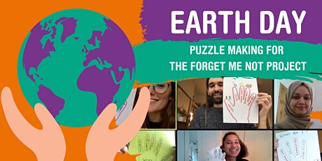 Earth Day: Puzzle making for the Forget Me Not Project tickets