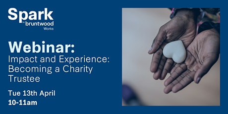 Spark Webinar: Impact and Experience- Becoming a Charity Trustee tickets
