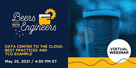 Beers w/ Engineers - Data Center to the Cloud tickets