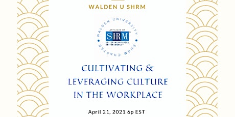 Cultivating and Leveraging Culture in the Workplace tickets