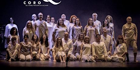 Coro del Teatro Principal CONCIERTO DE PRIMAVERA (ESCENA D´´  ACI)Canto entradas
