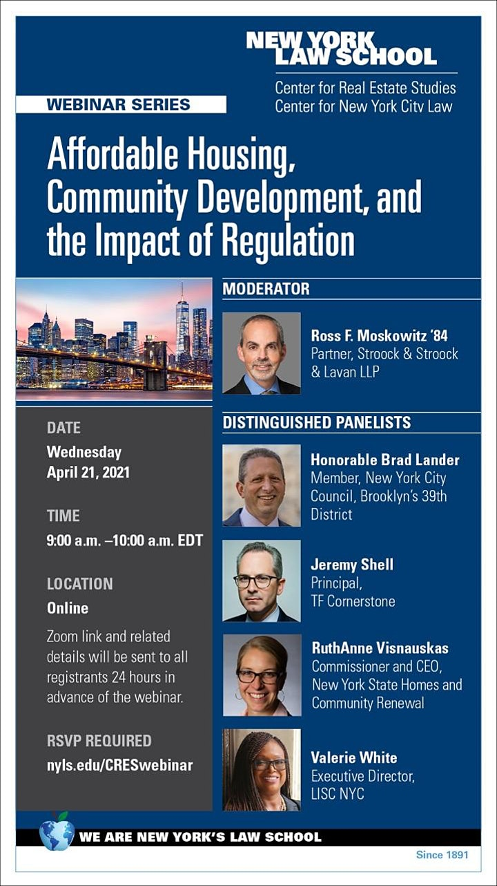 Affordable Housing, Community Development, and the Impact of Regulation image