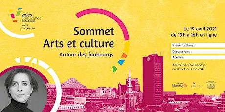 Sommet arts et culture : Autour des faubourgs boletos