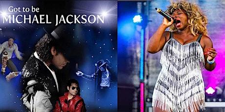 Michael Jackson & Tina Turner - Longbridge tickets