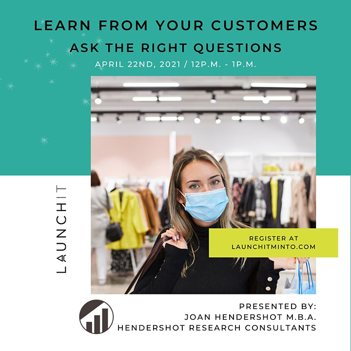 Learn from your Customers - Ask the right questions image