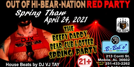 Out-Of-Hibernation Red Party & Henry's B-Day Party! tickets