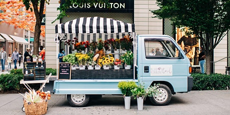 Wine & Design with Blue Ribbon Floral, DC's Flower Truck tickets