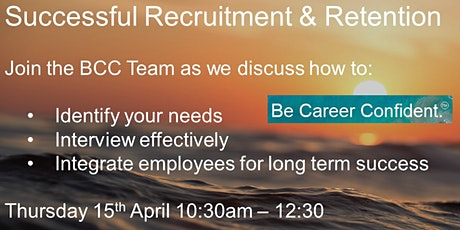 Successful Recruitment & Retention tickets