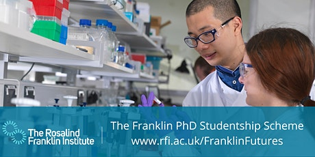 Franklin Futures: PhD Programme Q&A tickets