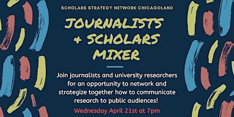 Journalists & Scholars Mixer tickets