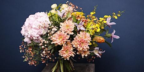 Taller de diseño floral entradas