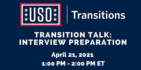 Transition Talk: Interview Preparation tickets