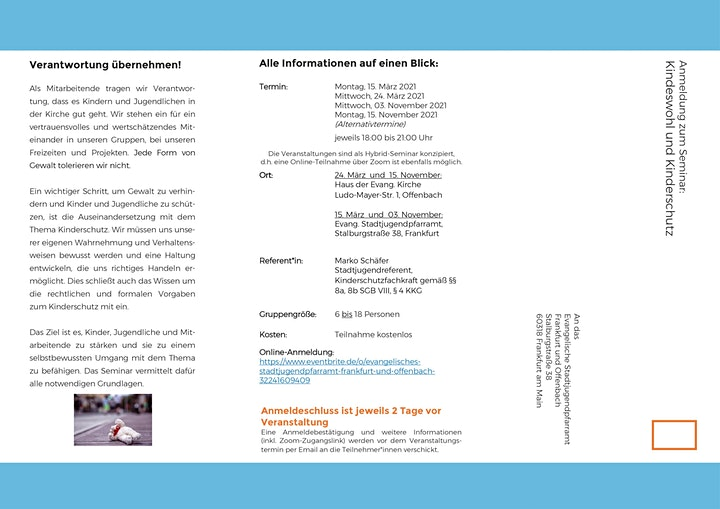Kindeswohl - Präventionsschutz: Bild