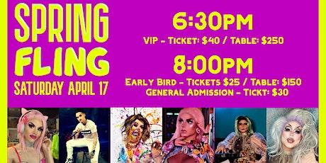 Spring Fling Drag Show tickets
