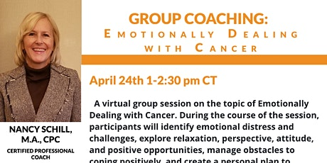 Group Coaching: Emotionally Dealing With Cancer tickets