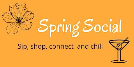 Spring Social at AKA Kitchen tickets