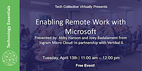 Enabling Remote Work with Microsoft tickets