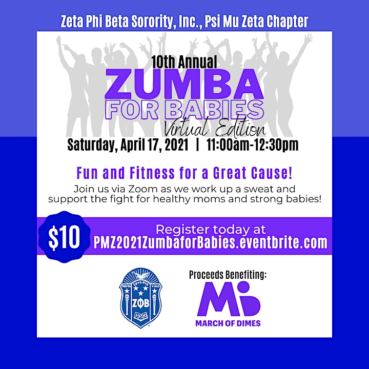 10th Annual Zumba for Babies image