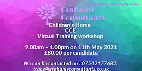 Children's Homes CCE Training workshop tickets