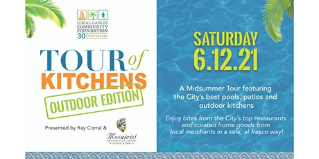 Tour of Kitchens OUTDOOR Edition presented by Ray Corral & Mosaicist tickets