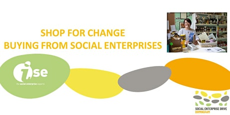 Shop for change buying from Social Enterprises tickets