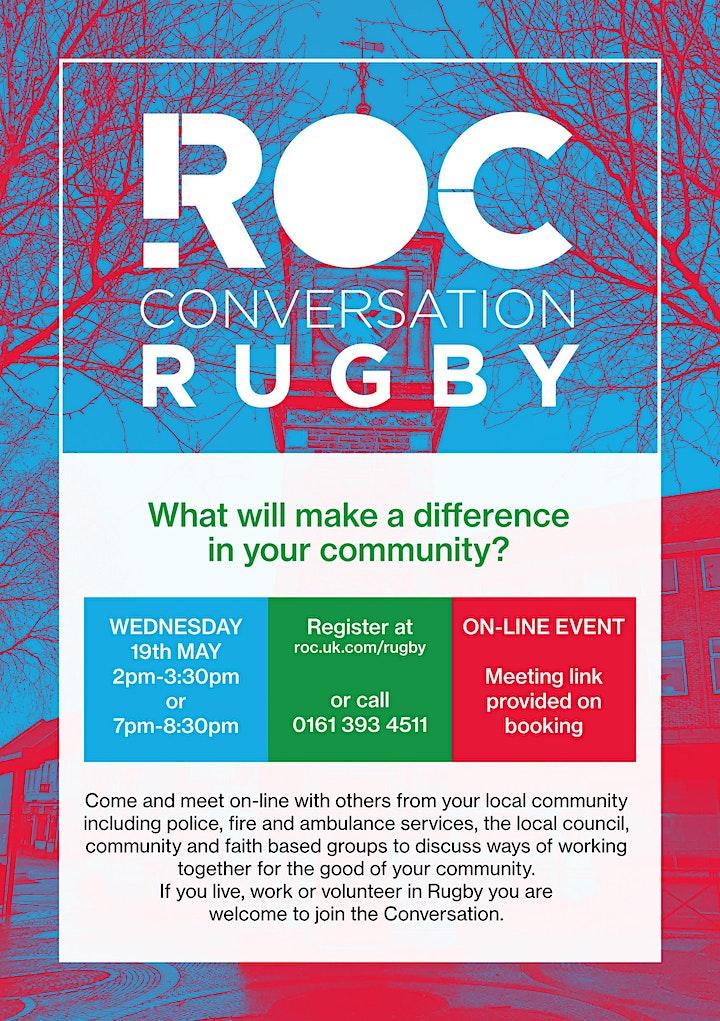 ROC CONVERSATION: Rugby image