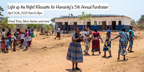 Light Up The Night! Kilowatts for Humanity's 5th Annual Fundraiser tickets