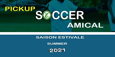 SOCCER AMICAL_ADULTE/ PICKUP SOCCER_ADULT tickets