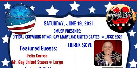 Mr. Gay Maryland United States @ Large  2021Crowning tickets