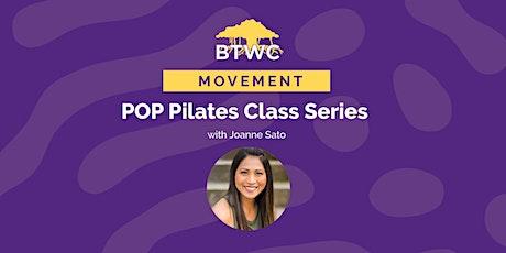 POP Pilates Class Series entradas