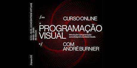 Programação Visual: Introdução à programação para designers e artistas ingressos